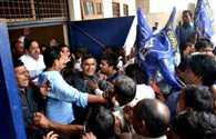 BSP Worker Protest
