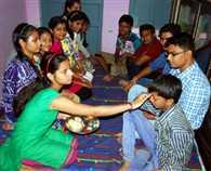 celebrated Bhaai Dooj