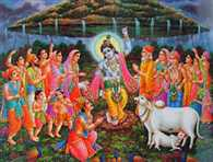 Govardhan Puja Festival yesterday was celebrated with great pomp