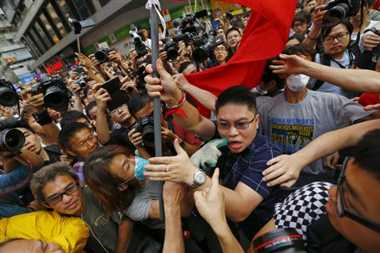 Protesters in Hong Kong to vote on government proposals