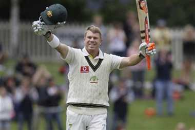 David Warner Matches Don Bradman With Three Consecutive Test Tons