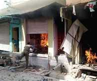 Spread tension between two communities, house-shop ablaze
