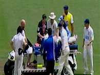 Hughes injured by a bouncer, admitted in hospital