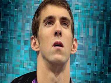 Michael Phelps won his fifth 'Golden Goggles' Award