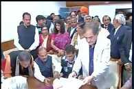 Birender Singh, Suresh Prabhu file nominations