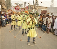 In the city chanting of Wahe Guru cheer