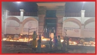 15 thousand lit the lamp Thawe Durga Temple