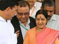Sushma Swaraj was in charge for 3 days when PM Narendra Modi and Rajnath Singh were abroad