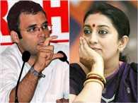 Rahul Gandhi Copying My Speech Style says Smriti Irani