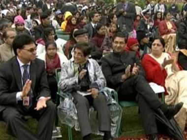 AAP became angry over the invitation to Kiran bedi for republic day parade
