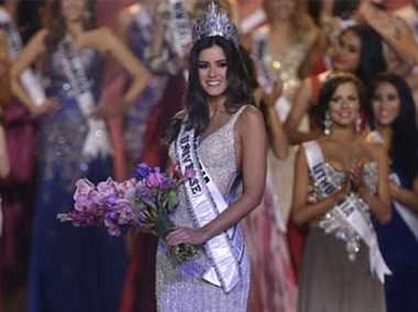 Miss Colombia Paulina Vega Named Miss Universe
