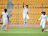 Mumbai all out for 44 as 21 wickets fall on day 1