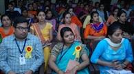 नर्सिग छात्राओं को दिए तनाव मुक्त रहने के टिप्स