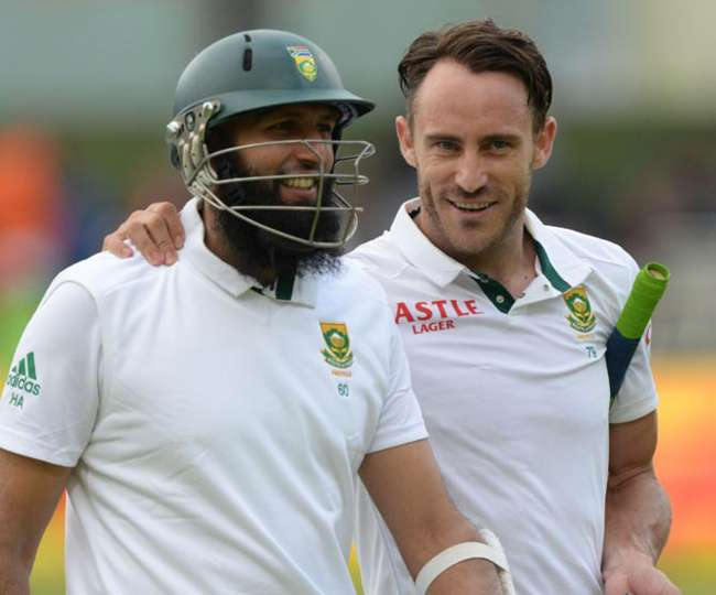 Hashim Amla and Faf Duplesis save South Africa in the Hamilton test against New Zealand