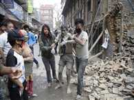 today nepal rocked again, death toll rises