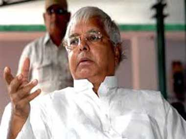 Earthquake declared national disaster : Lalu Prasad