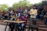 JNU Administration is tying tto break The student union