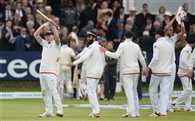 England beat New Zealand by 124 runs in 1st test at Lord's