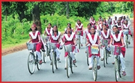 12954 students to get bycycles