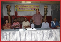 Brahmarshi vikash manch shall organise blood donation camp
