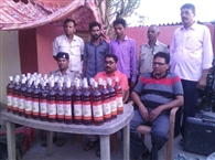 civic Two youths arrested with 63 bottles