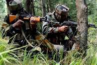 3 militants killed so far in encounter between army and militants in in Kupwara