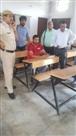 26 पुलिसकर्मियों की सुरक्षा में आरोपी ने दी परीक्षा