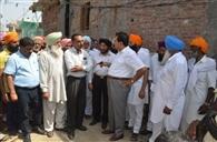 विधायक सोनी ने फतेहपुर के लोगों की समस्याएं सुनीं