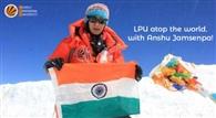 अरुणाचल प्रदेश की अंशु को एलपीयू ने दी बधाई