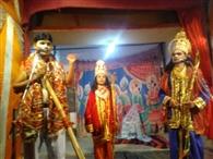 कलाकारों ने किया सीता स्वयंवर का मंचन