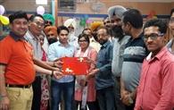 बैंक ने लगाया रक्तदान कैंप, 57 यूनिट रक्त दान