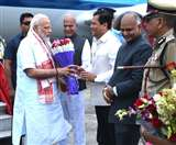 असम पहुंचे पीएम मोदी, देश की जनता के सामने अाज अपनी उपलब्धियों को रखेंगे
