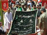 Pak Rangers, BSF exchange chadar, prasad at Baba Chamliyal Mela on border