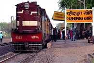 No railway employees are working at this railway station in Sikar