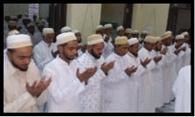 बोहरा समाज ने मनाई ईद, गले मिल दी मुबारकवाद