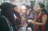ईद को लेकर देर रात तक लोगों ने की खरीदारी