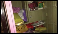 चकेश्वरी में दो घरों में 1.45 लाख की चोरी