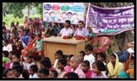 बाल अधिकार की रक्षा को निकली रैली