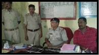 34 पीस चोरी के मोबाइल के साथ युवक गिरफ्तार