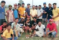 आरसीबी क्लब ने इंदिरा कालोनी को तीन विकेट से हराया