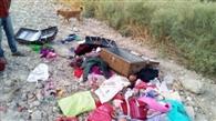पांच घरों में चोरी, ढाई लाख का माल पार