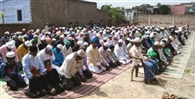 मस्जिदों व ईदगाहों में पढ़ी नमाज