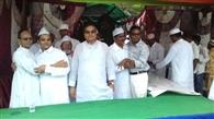 कुजू हर्षोल्लास के साथ मनाई गई ईद