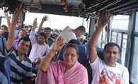 Fresh batch of pilgrims leave for Amarnath shrine