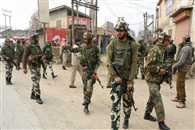 4 terrorist killed and one security force dead in an encounter at Naugam Sector in jammu kashmir