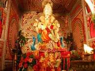 Grand  Ganesh festival in Laxmi nagar