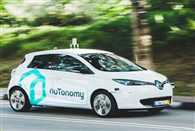 Self driving taxi trial kicks off in Singapore