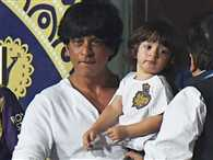 gauri khan posted a caricature of shah rukh khan and abram