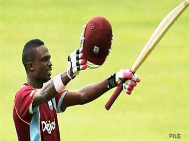 Carter hits ton in champions league T20