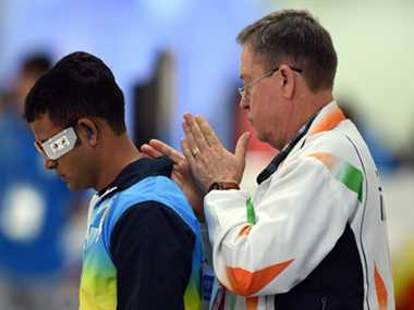 Indian men shooters win second silver for India